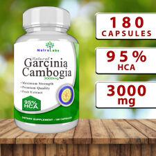Garcinia Cambogia - 180 Capsules - 3000mg - 95% HCA - NatraLabs - Aussie Stock