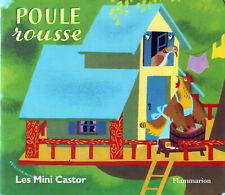 Poule rousse * Conte de LIDA Mini Père Castor Flammarion  livre enfant