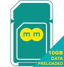 Official EE 10GB 4G Broadband Sim Card, Preloaded with 10GB Data