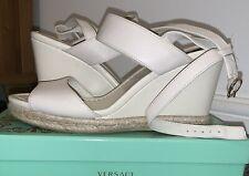 DKNY Womens Open Toe Casual Platform Sandals, Beige Size EU 38.5 Uk 5.5 Comfy