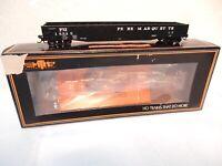 MTH HO Scale #80-72013 Pere Marquette  70- Ton Mill Gondola Car-Black-ln wth box