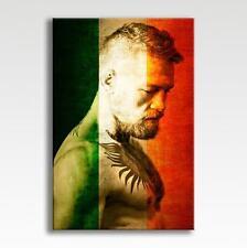 "Conor McGregor Ireland Flag UFC Canvas Poster Photo Pic Wall Art 30"" x 20"""