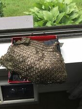 Kenny Ma NIQUEA.D Golden brown Finish Evening Bag  $350 NWT