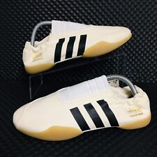 *NEW* Adidas Taekwondo Slip On (Women's Size 7.5) Cream Fighting Shoes Sneakers