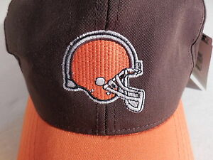 NFL Cleveland Browns Football CLASSIC STARTER TEAM LOGO HAT CAP Youth Size NWT !