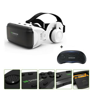 VR Virtual Reality 3D Stereo Glasses Box Google Cardboard Helmet for IOS Android