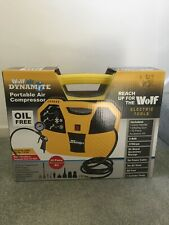 WOLF DYNAMITE PORTABLE AIR COMPRESSOR WITH 5PC KIT