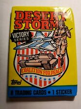 Desert Storm 1991 Trading Cards - 1 Unopened Pack Brand New Fast Shipping