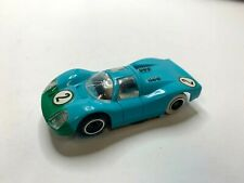 Vintage Toys 1970'S Slot Cars V.Desirable Blu/Grn # 2 Tyco Pro Slot Car