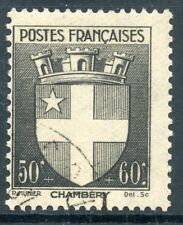 STAMP / TIMBRE FRANCE OBLITERE N° 553  BLASON / CHAMBERY