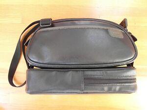 SONY Handycam Black Travel Camera Camcorder Bag Case with Shoulder Strap Dual