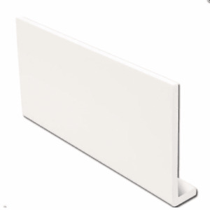 1m / 1.25m UPVC White Capping Board 9mm Soffit Fascia
