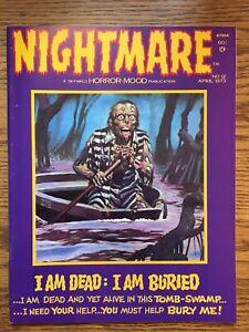 NIGHTMARE #12 April 1973 VF Skywald Horror-Mood Magazine Swamp Issue Comic