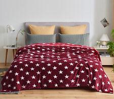 Blanket Queen King Throw Size Flannel Fleece Lightweight Blanket for Bed Sofa