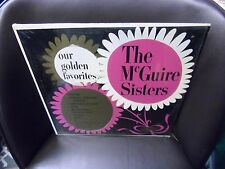 The McGuire Sisters Our Golden Favorites LP Coral EX in shrink