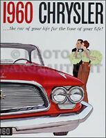 1960 Chrysler Original Sales Catalog MINT Windsor Saratoga New Yorker Brochure