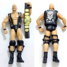 WWF WWE Elite Stone Cold Steve Austin w/ Winged Eagle Belt Action Figure Kid Toy