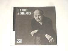 Leo FERRE-CD-A L 'Alhambra & a l' A.B.C. - 1961/62-BARCLAY 076 182-2
