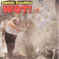"Captain Sensible - Wot! / Strawberry Dross (7"" A&M Vinyl-Single Holland 1982)"