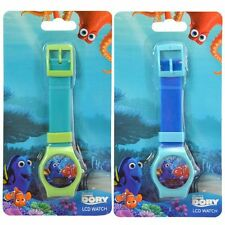 2x Disney Finding Dory Nemo Digital LCD Wrist Watch Party Stocking Stuffer