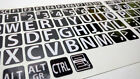 English US LARGE LETTER KEYBOARD STICKERS for Computer or Laptop, BOLD PRINT