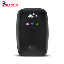 Unlocked Portable 4G LTE Wifi Router Mobile Modem 150Mbps Hotspot SIM Card Slot