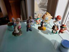 Hallmark Merry Miniatures Mixed 10 Piece Lot - 90s - 1 Madame Alexander 2000