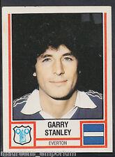PANINI CALCIO 1981 Sticker-n. 111-Everton-Garry STANLEY
