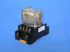 Omron L4YN relay with base PTF14A
