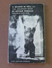 A SEASON IN HELL & DRUNKEN BOAT by Arthur Rimbaud - New Directions 1st 1961