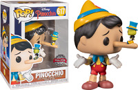 Lying Pinocchio with Jiminy Cricket Funko Pop Vinyl New in Box