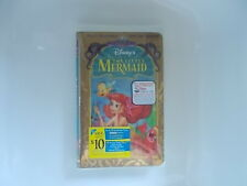 Mint in Box! Walt Disney's The Little Mermaid Masterpiece Collection VHS #12731