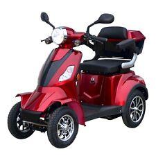 STORMBORN R4 - Elektromobil Senioren Vierrad Kranken Roller Rollstuhl - rot
