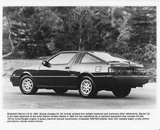 1984 Mitsubishi Starion LS Press Photo 0010