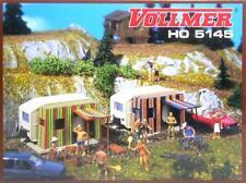 Vollmer 5145 ( 45145 ) H0 - Campingwagen mit Vorzelt NEU & OvP