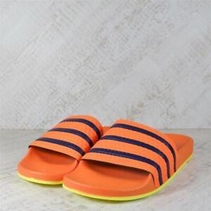 Mens Adidas Adilette Orange/Blue Slides (15C09) RRP £29.99