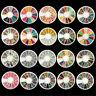 NEW DIY Manicure Rhinestone Resin Acrylic 3D Nail Art Tips Decoration Wheel