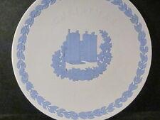 Wedgwood 1982 Pennsylvania House Christmas Plate 1st Annual Blue On White