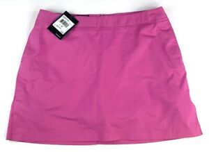 New Adidas Stretch Golf Skort Womens Size 12 Magenta Inner Briefs W34 X L17.25