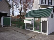 """CHICKEN COOP BUILDING PLANS """"The Homesteader""""  WITH FREE NEST BOX PLANS!!"""