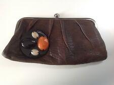 Marni Black Leather Embellished Frame Clutch. Excellent condition.