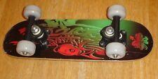 "Vintage 1990's 17"" Lucky 4 Leaf Clover Skateboard ""Factory Sealed"" New"