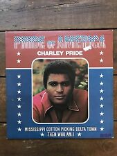 "Charley Pride  ‎– Pride Of America - RCA Victor ‎– LSA 3202 12"" LP VG condition"
