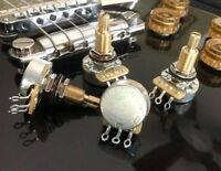 4X CTS TAOT CUSTOM 525K Pots - 5% Tolerance (500K-550K)  - LONG Shaft Audio
