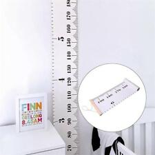 Nordic Wooden Baby Growth Chart Kids Room Wall Hanging Height Measure Ruler G