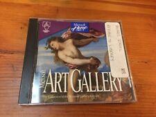 Vintage 1994 Mac Macintosh Art National Gallery London Software Disc Cd