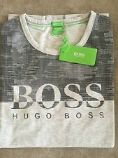 Hugo Boss t-shirt Top size XL Men's BNWT NEW Grey NEW *green label*