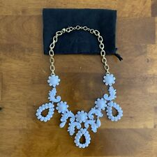 """J. Crew Art Deco White Necklace With Duster 19"""" 21"""""""