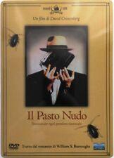 Dvd Il Pasto nudo - ed. Steelbook di David Cronenberg 1991 Usato