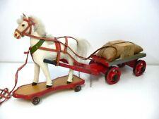 Pferdefuhrwerk um 1900